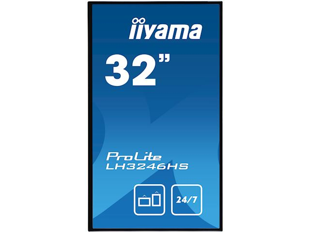 "iiyama ProLite LH3246HS-B1 32"", IPS, Full HD, 24/7 Hours Operation, HDMI, DisplayPort, Daisy Chain function, 10w Speakers, Landscape image 1"