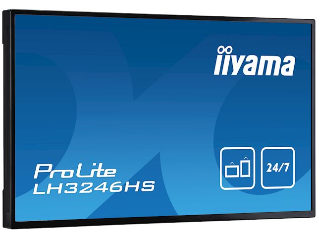 "iiyama ProLite LH3246HS-B1 32"", IPS, Full HD, 24/7 Hours Operation, HDMI, DisplayPort, Daisy Chain function, 10w Speakers, Landscape image 3"