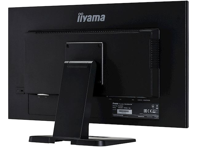 "iiyama ProLite monitor T2453MTS-B1 24"", VA, Optical 2pt touch, HDMI, Scratch resistive, Black, Glass front image 10"