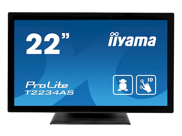 "iiyama ProLite T2234AS-B1 22"" PCAP 10pt touch screen with Android image 0"