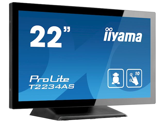 "iiyama ProLite T2234AS-B1 22"" PCAP 10pt touch screen with Android image 2"