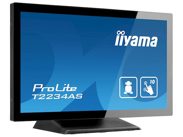"iiyama ProLite T2234AS-B1 22"" PCAP 10pt touch screen with Android image 3"