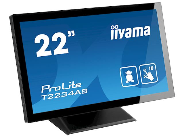 "iiyama ProLite T2234AS-B1 22"" PCAP 10pt touch screen with Android image 4"