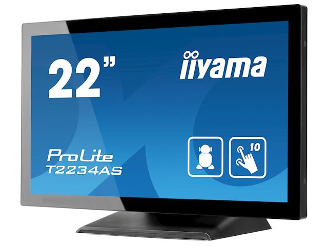 "iiyama ProLite T2234AS-B1 22"" PCAP 10pt touch screen with Android image 7"