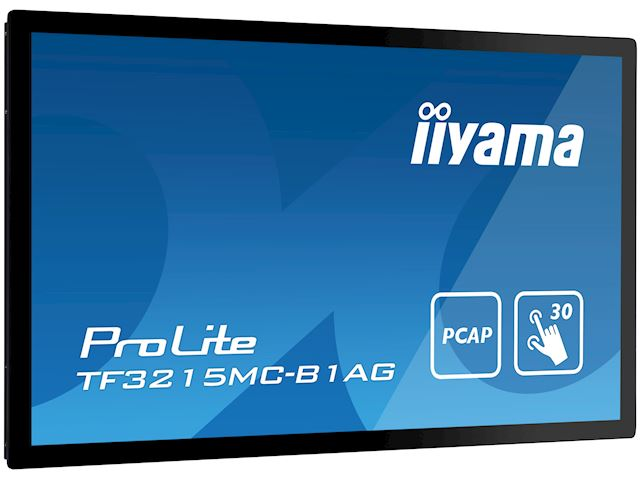 "iiyama ProLite TF3215MC-B1AG 31.5"", AMVA3, Full HD, Open Frame, Projective Capacitive, 30pt touch screen, AG coating, VGA/HDMI image 2"