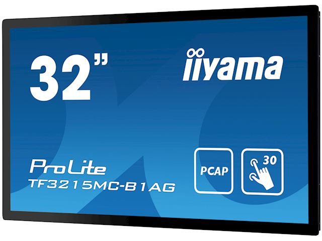 "iiyama ProLite TF3215MC-B1AG 31.5"", AMVA3, Full HD, Open Frame, Projective Capacitive, 30pt touch screen, AG coating, VGA/HDMI image 5"