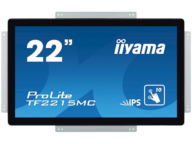 "iiyama Prolite TF2215MC-B2 22"" Black, Full HD, Projective Capacitive 10pt Touch, IPS Touch screen image 3"