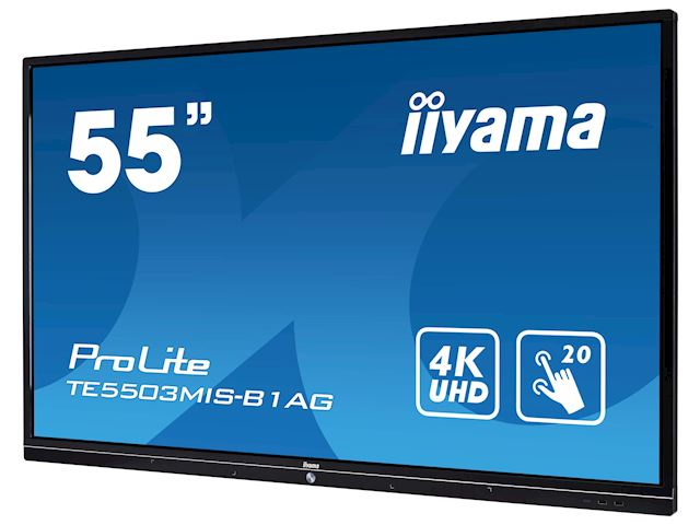 iiyama ProLite TE5503MIS-B1AG 55'' Interactive 4K UHD LCD Touchscreen with integrated annotation software  image 3
