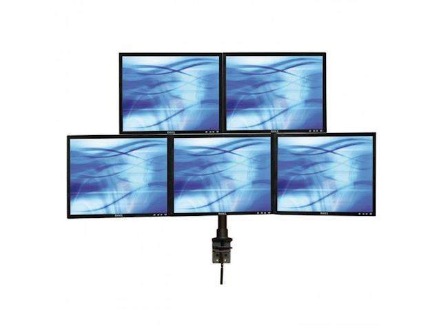 ErgoMounts VisionPro 300 EMVP325 Five Monitor Desk Mount image 0