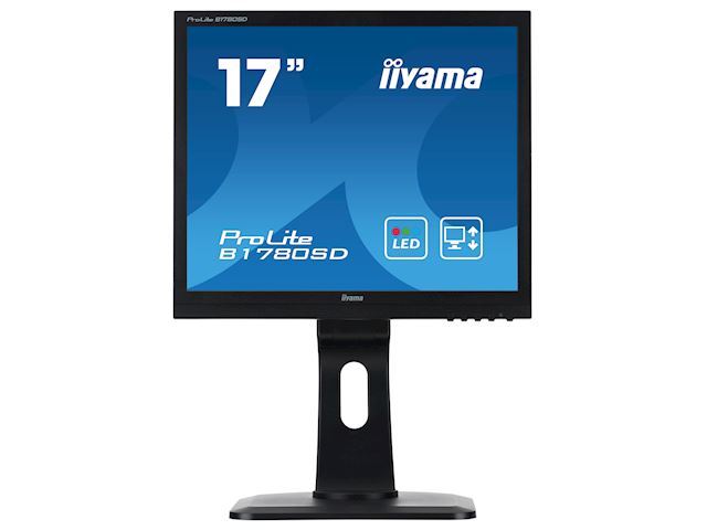 "iiyama ProLite monitor B1780SD-B1 17"" 5:4 Black, Height Adjustable, Black image 0"