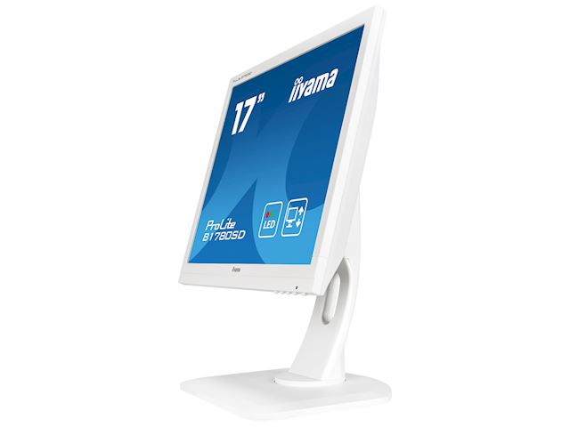 "iiyama ProLite B1780SD-W1 17"" 5:4 Black, Height Adjustable, White image 5"