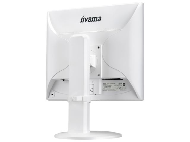 "iiyama ProLite monitor B1980SD-W1 19"" 5:4 Black, Height Adjustable, White image 9"