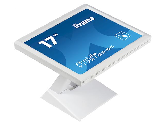 "iiyama ProLite monitor T1731SR-W5 17"" White, 5:4, Resistive single touch, HDMI, Display Port image 5"