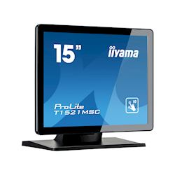 "iiyama ProLite monitor T1521MSC-B1 15"" Black, 5:4, Projective Capacitive 10pt touch, Bezel Free thumbnail 1"