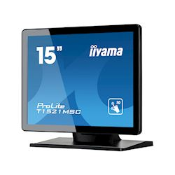 "iiyama ProLite monitor T1521MSC-B1 15"" Black, 5:4, Projective Capacitive 10pt touch, Bezel Free thumbnail 2"
