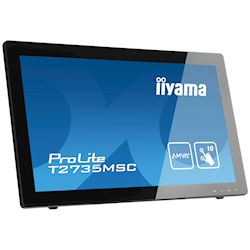 "iiyama ProLite monitor T2735MSC-B2  27"" Black, AMVA+, Full HD, Projective Capacitive 10pt touch, HDMI, USB Hub, Webcam thumbnail 3"
