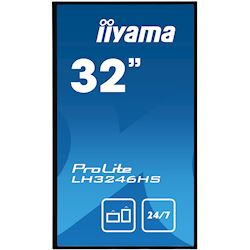 "iiyama ProLite LH3246HS-B1 32"", IPS, Full HD, 24/7 Hours Operation, HDMI, DisplayPort, Daisy Chain function, 10w Speakers, Landscape thumbnail 1"