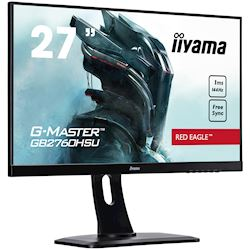 "iiyama G-Master Red Eagle gaming monitor GB2760HSU-B1 27"" Black, Full HD, 1ms, 144Hz, FreeSync, HDMI, Display Port, Height Adjustable thumbnail 2"