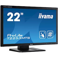 "iiyama ProLite monitor T2253MTS-B1 22"", Opitical 2pt touch, 2ms, HDMI, Glass front, 16:9 thumbnail 1"
