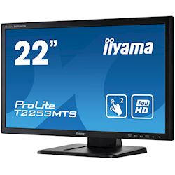 "iiyama ProLite monitor T2253MTS-B1 22"", Opitical 2pt touch, 2ms, HDMI, Glass front, 16:9 thumbnail 5"