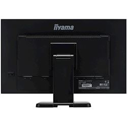 "iiyama ProLite monitor T2453MTS-B1 24"", VA, Optical 2pt touch, HDMI, Scratch resistive, Black, Glass front thumbnail 9"
