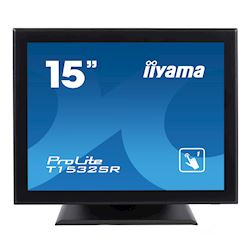 "iiyama ProLite T1532SR-B5 15"", Resistive single touch, 4:3, HDMI, DisplayPort, Water and Dust protective"
