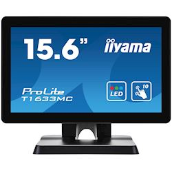 "iiyama ProLite T1633MC-B1 16"", Projective Capacitive 10pt touch, edge to edge glass, HDMI, DisplayPort, USB Hub, scratch resistant"