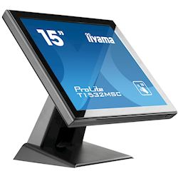 "iiyama ProLite T1532MSC-B5AG 15"", Black, Projective Capacitive 10pt touch, edge to edge glass, Anti-glare coating, scratch resistant, HDMI, DisplayPort  thumbnail 4"