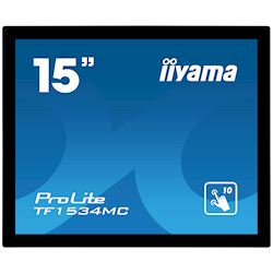 "iiyama ProLite TF1534MC-B6X 15"", Projective Capacitive 10pt touch, Open frame, Scratch resistant, Anti-fingerprint coating, 4:3, HDMI, DisplayPort thumbnail 9"
