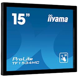 "iiyama ProLite TF1534MC-B6X 15"", Projective Capacitive 10pt touch, Open frame, Scratch resistant, Anti-fingerprint coating, 4:3, HDMI, DisplayPort thumbnail 10"