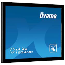 "iiyama ProLite TF1534MC-B6X 15"", Projective Capacitive 10pt touch, Open frame, Scratch resistant, Anti-fingerprint coating, 4:3, HDMI, DisplayPort thumbnail 11"