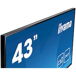 "iiyama ProLite LH4346HS-B1 42"", Black, IPS, Slim Bezel, HDMI, DisplayPort, Full HD, 24/7, Landscape, Daisy Chain function, PiP, Media Player thumbnail 4"