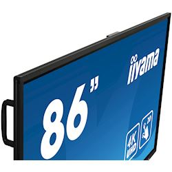 "iiyama ProLite TE8603MIS-B1AG 86"", 4k UHD, Infrared 20pt touch, PC slot, 24/7, IPS, Anti-glare coating, HDMI, DisplayPort, 32gb Internal memory thumbnail 3"