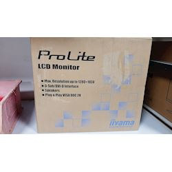"Box damaged - iiyama ProLite monitor E1980SD-B1 19"" 5:4 Black, VGA, DVI thumbnail 0"