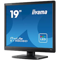 "Box damaged - iiyama ProLite monitor E1980SD-B1 19"" 5:4 Black, VGA, DVI thumbnail 4"