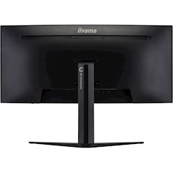 "iiyama G-Master Red Eagle curved gaming monitor GB3466WQSU-B1 34"" Black, 144hz, 3440x1440 res, 1ms, FreeSync, 2 x HDMI/DisplayPort with USB Hub thumbnail 7"