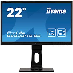 "iiyama ProLite monitor B2283HS-B5 22"" Full HD Black, HDMI, Height Adjustable thumbnail 0"