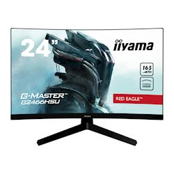 "iiyama G-Master Red Eagle curved gaming monitor G2466HSU-B1 23.6"" Black, Full HD, 165Hz, 1ms, FreeSync, HDMI, Display Port, USB Hub"