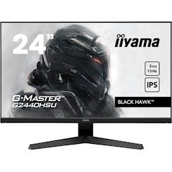 "iiyama G-Master Black Hawk gaming monitor G2440HSU-B1 23.8"" Black, IPS, 75Hz, 1ms, FreeSync, HDMI, Display Port, USB Hub"