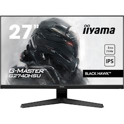 "iiyama G-Master Black Hawk gaming monitor G2740HSU-B1 27"" Black, IPS, 75Hz, 1ms, FreeSync, HDMI, Display Port, USB Hub"
