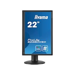 "iiyama ProLite monitor B2280WSD-B1 22"" 1680x1050, Black, Height Adjustable thumbnail 7"
