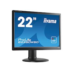"iiyama ProLite monitor B2280WSD-B1 22"" 1680x1050, Black, Height Adjustable thumbnail 1"