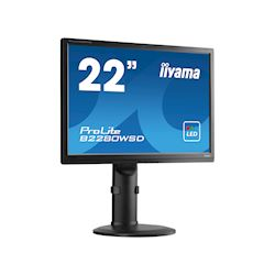 "iiyama ProLite monitor B2280WSD-B1 22"" 1680x1050, Black, Height Adjustable thumbnail 5"