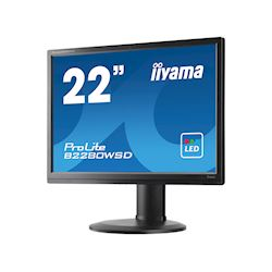 "iiyama ProLite monitor B2280WSD-B1 22"" 1680x1050, Black, Height Adjustable thumbnail 2"
