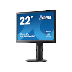 "iiyama ProLite monitor B2280WSD-B1 22"" 1680x1050, Black, Height Adjustable thumbnail 6"