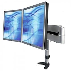 Ergomounts EMPMA212S ParaMotion Series Dual Monitor Arm Desk Mount
