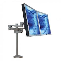 Ergomounts EMUV420TD UltraView 420 Dual Screen Desk Mount Monitor Arm