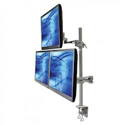 Ergomounts EMUV435DC UltraView 435 Triple Monitor Arm Desk Mount