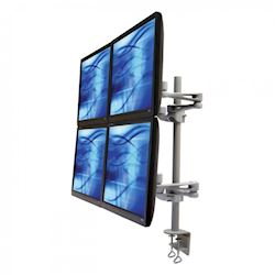 Ergomounts EMUV440DC UltraView 440 Quad Monitor Arm Desk Mount Clamp thumbnail 0