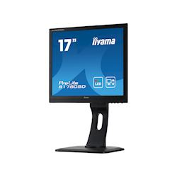 "iiyama ProLite monitor B1780SD-B1 17"" 5:4 Black, Height Adjustable, Black thumbnail 2"